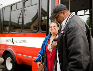 Find a Ride for Social Services Appointment